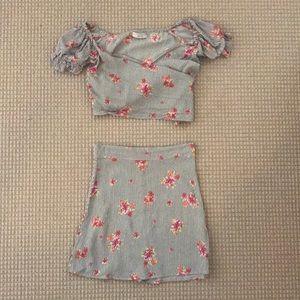 Flynn skye two piece dress size small